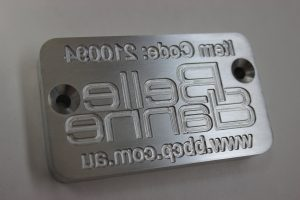 Australian Engraving Machine Engraved Mould